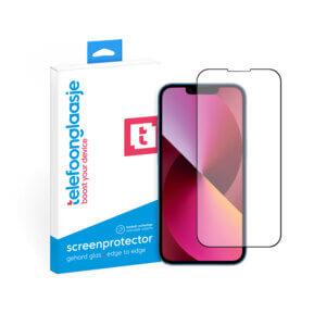 iPhone 13 Mini screenprotector gehard glas Edge to Edge