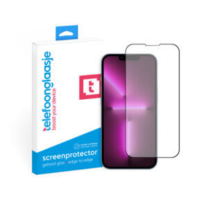 iPhone 13 Pro Max screenprotector gehard glas Edge to Edge