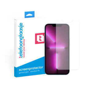 iPhone 13 Pro Max screenprotector - Standard Fit