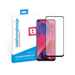 OPPO A54 5G screenprotector Edge to Edge