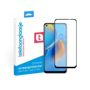 OPPO A74 4G screenprotector Edge to Edge