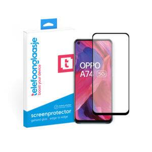 OPPO A74 5G screenprotector Edge to Edge