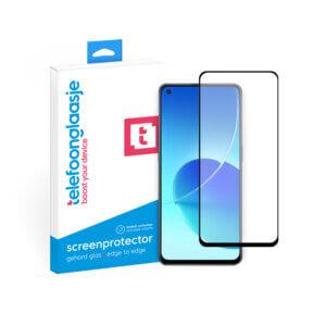 OPPO Reno 6 screenprotector Edge to Edge