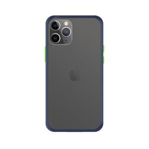 iPhone 11 Pro Max case - Blauw/Transparant