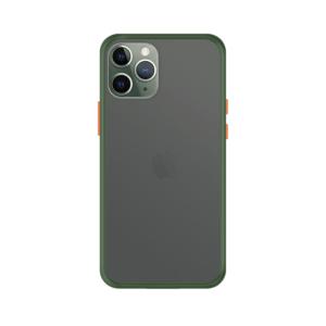 iPhone 11 Pro Max case - Groen/Transparant