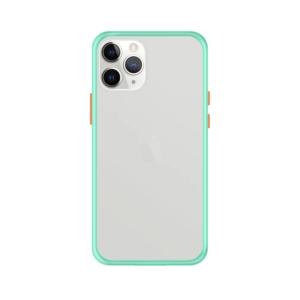 iPhone 11 Pro Max case - Lichtblauw/Transparant