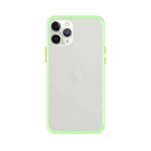 iPhone 11 Pro Max case - Lichtgroen/Transparant