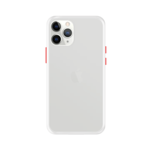 iPhone 11 Pro Max case - Wit/Transparant