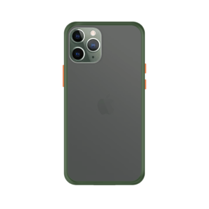 iPhone 11 Pro case - Groen/Transparant