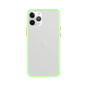 iPhone 11 Pro case - Lichtgroen/Transparant
