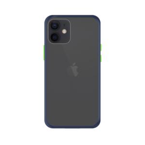 iPhone 11 case - Blauw/Transparant