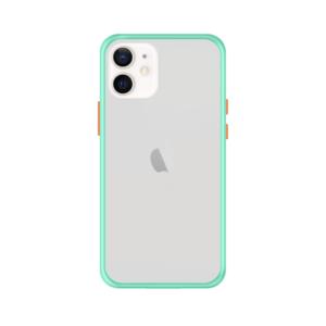 iPhone 12 Mini case - Lichtblauw/Transparant