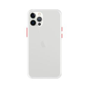 iPhone 12 Pro Max case - Wit/Transparant