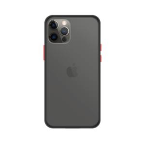 iPhone 12 Pro Max case - Zwart/Transparant