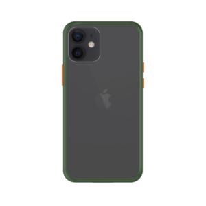 iPhone 12 case - Groen/Transparant