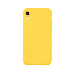 iPhone XR Bio hoesjes - Geel