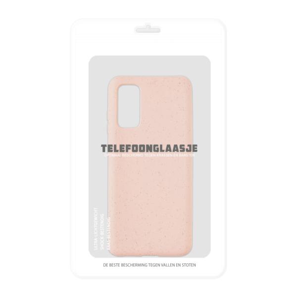 Samsung Galaxy S20 Bio hoesjes - Roze - Sealbag
